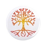 Distressed Tree IV 3.5&quot; Button
