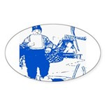 Dutch Boy Oval Sticker