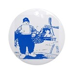 Dutch Boy Ornament (Round)