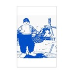 Dutch Boy Mini Poster Print