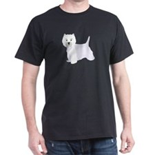 Cute Highland terrier west T-Shirt