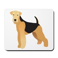 Cute Airedale Mousepad