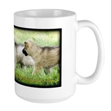 Shiloh Shepherd Puppies: Follow Me Mug