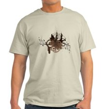 steampunk pirate ship T-Shirt