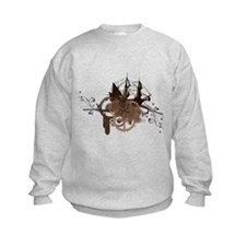 steampunk pirate ship Sweatshirt