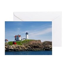 Nubble Light Main Greeting Card