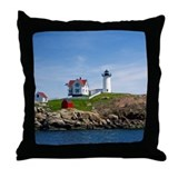 Nubble Light Main Throw Pillow