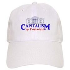 Baseball Capitalism is Patriotic Baseball Cap
