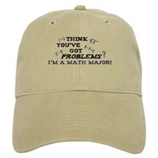 Funny Math Major Baseball Cap