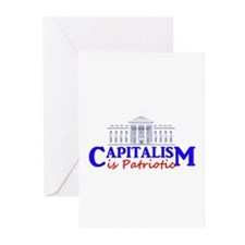 Capitalism is Patriotic Greeting Cards (Pk of 20)