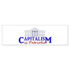 Capitalism is Patriotic Bumper Sticker (10 pk)