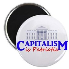 "Capitalism is Patriotic 2.25"" Magnet (100 pack)"