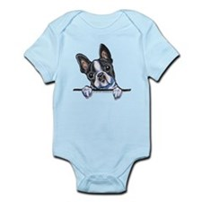 Curious Boston Onesie