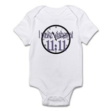 Cute Time for change Infant Bodysuit