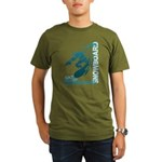 Eat Sleep Snowboard Organic Men's T-Shirt (dark)