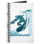 Eat Sleep Snowboard Journal