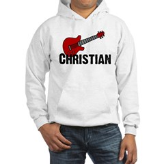 Guitar - Christian Hooded Sweatshirt