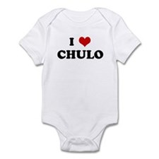 I Love CHULO Infant Bodysuit
