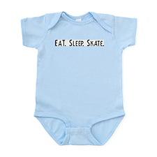 Eat, Sleep, Skate Infant Creeper