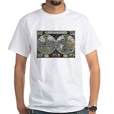 1595 World Map Shirt