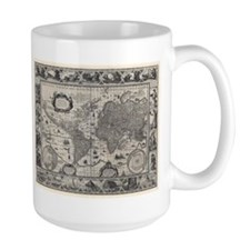 1606 World Map Mug