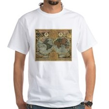 1716 World Map Shirt