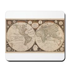 1799 World Map Mousepad