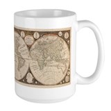 1799 World Map Mug