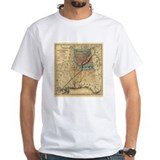 1867 AL TN Rail Map Shirt