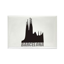 Barcelona Rectangle Magnet (10 pack)