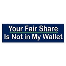 Your Fair Share...