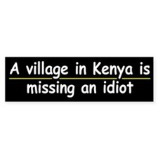 A Village in Kenya....