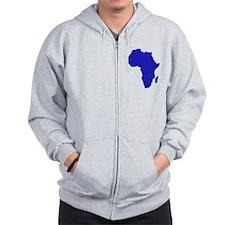 Africa Zip Hoodie