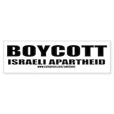 Boycott Apartheid Bumper Bumper Sticker