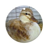 Duck Ornament (Round)
