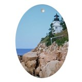 Bass Harbor Oval Ornament
