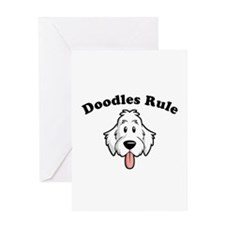 Doodles Rule Greeting Card