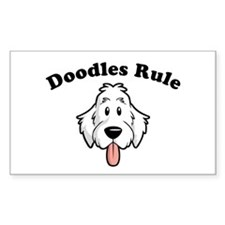 Doodles Rule Decal