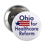 Ohio for Health Care Reform Button