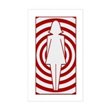 Mod Girl Decal