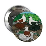 "Saxon Pigeon Trio 2.25"" Button (10 pack)"
