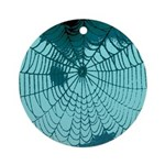 Spider Webs Ornament (Round)