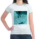 Spider Webs Jr. Ringer T-Shirt