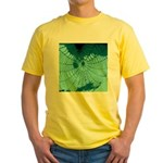 Spider Webs Yellow T-Shirt