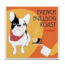 French Bulldog Roast Tile Coaster