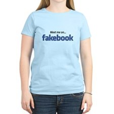 "Fakebook ""MEET me"" T-Shirt"