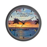 Ko Olina Always Paradise Wall Clock