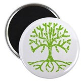 Distressed Tree III Magnet