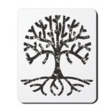 Distressed Tree II Mousepad