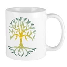 Distressed Tree VII Mug